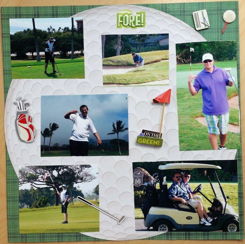 Golfing in Paradise #2