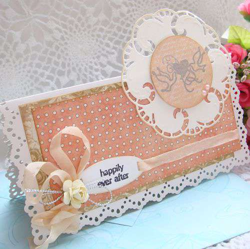 Wedding Card---Happily ever after