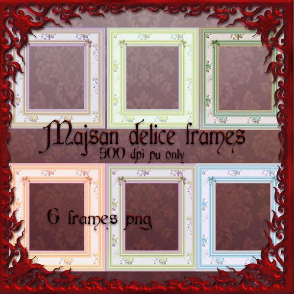 majsan delice frames