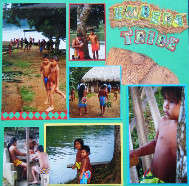 The Embera tribe at Tusipono : Beautiful people