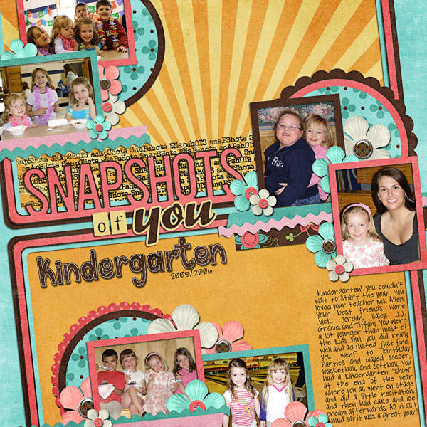 Snapshots of You - Kindergarten