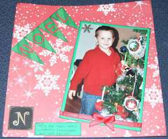 Mini album N is for Noel