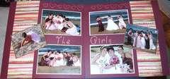 The girls - wedding album