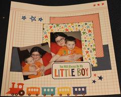 You'll always be my little boy