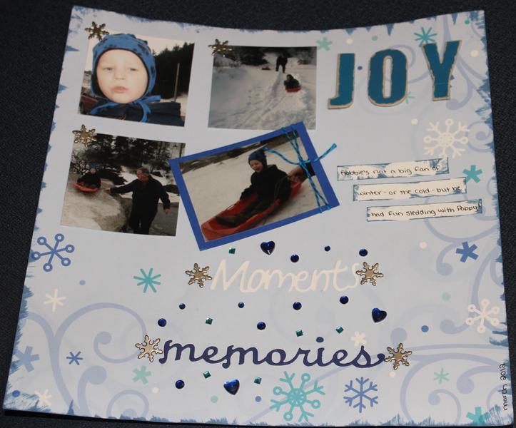 Moments, memories, joy