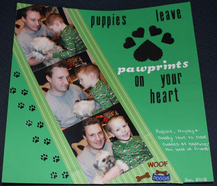 puppies leave pawprints on your heart