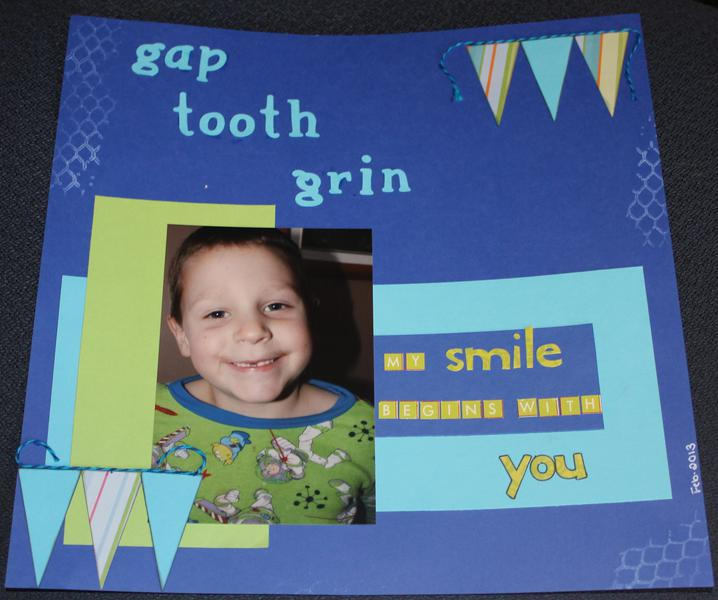 gap tooth grin