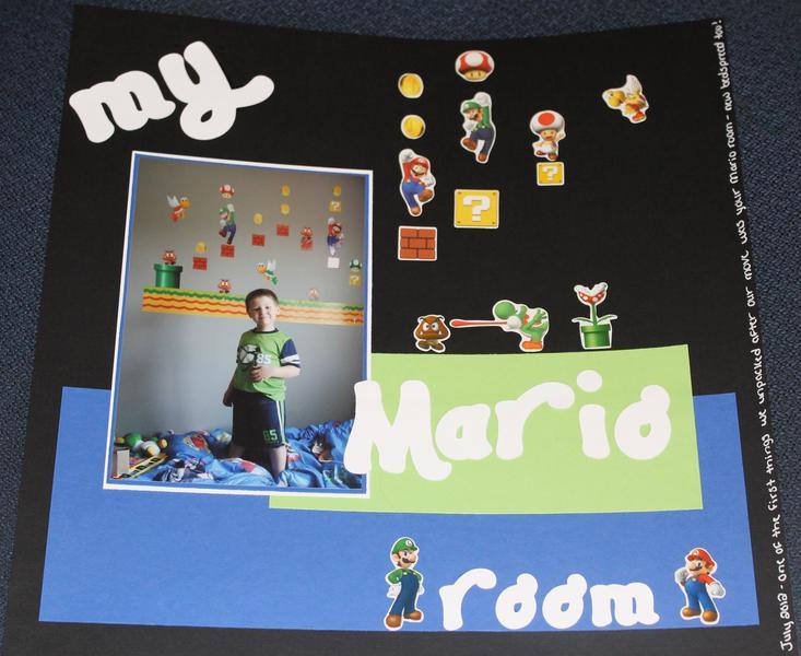 My Mario room
