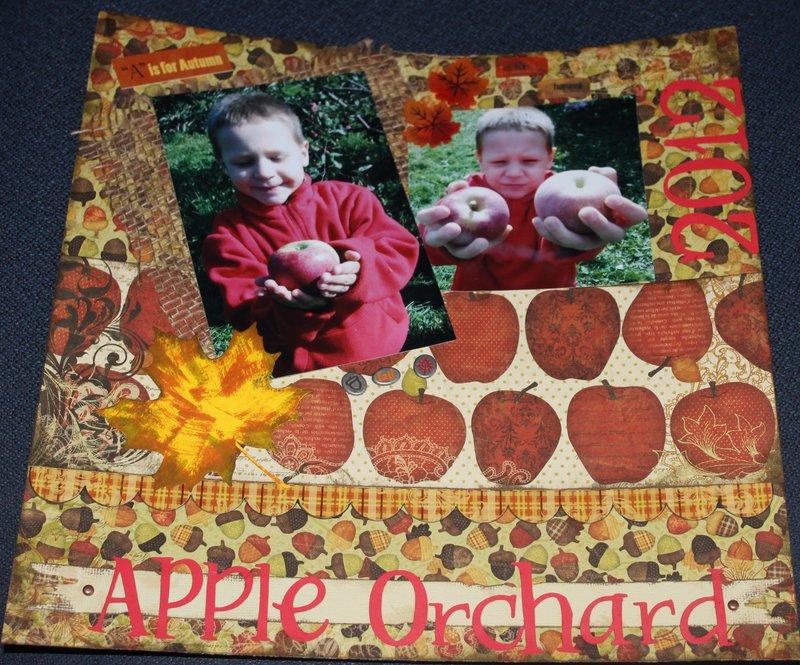 Apple orchard 2012