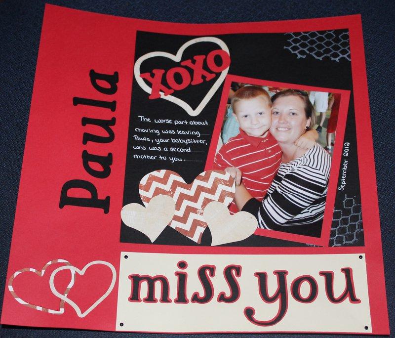 Miss you Paula