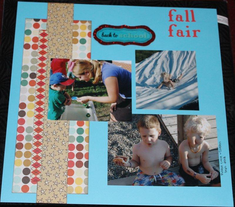 fall fair - teacher album