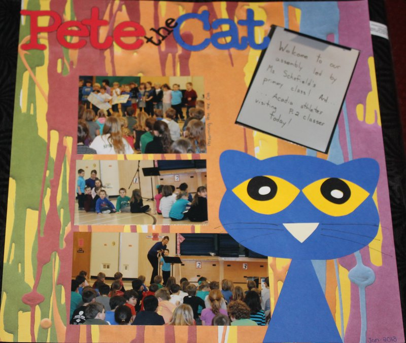 pete the cat - teacher album