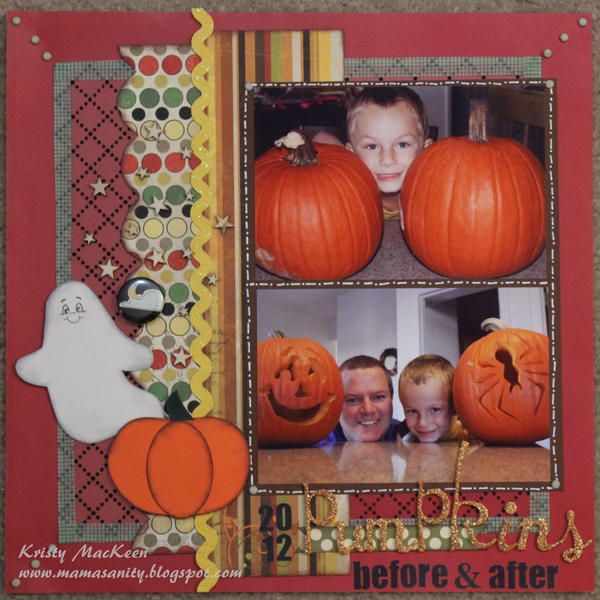 2012 Pumpkins Before & After