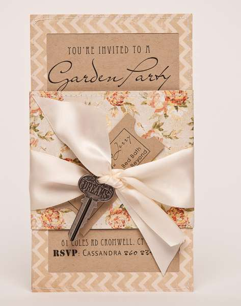 You're Invited to a Garden Party Bridal Shower