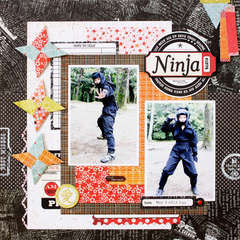 *Ninja* BasicGrey konnichiwa collection
