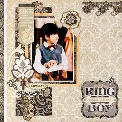 *Ring Boy* BasicGrey LITTLE BLACK DRESS