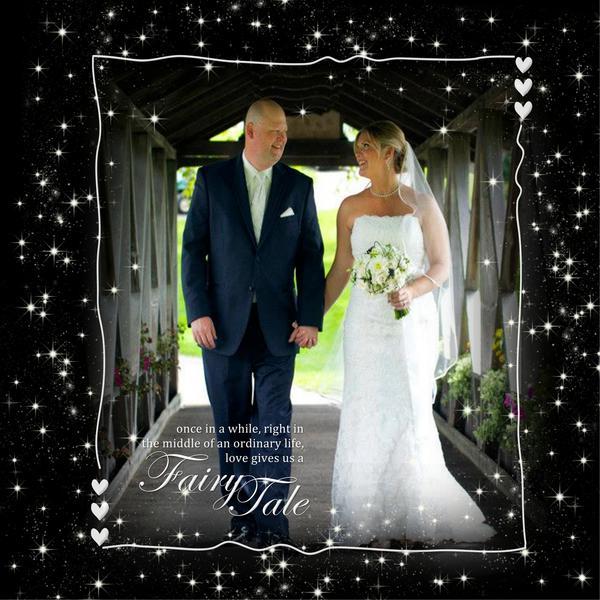 Cover to Ann's Wedding Album