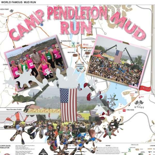 Camp Pendleton Mud Run 2012