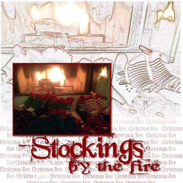 Stockings by the Fire