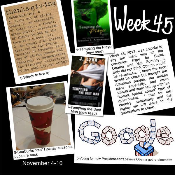 2012 Project 365 - Week 45