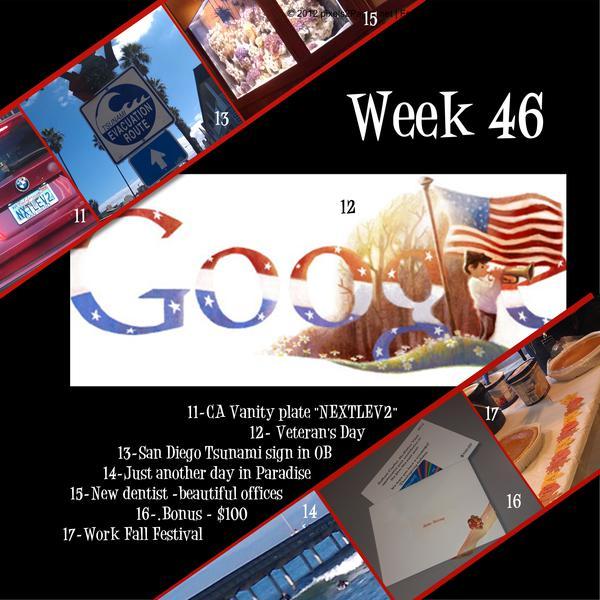 2012 Project 365 - Week 46