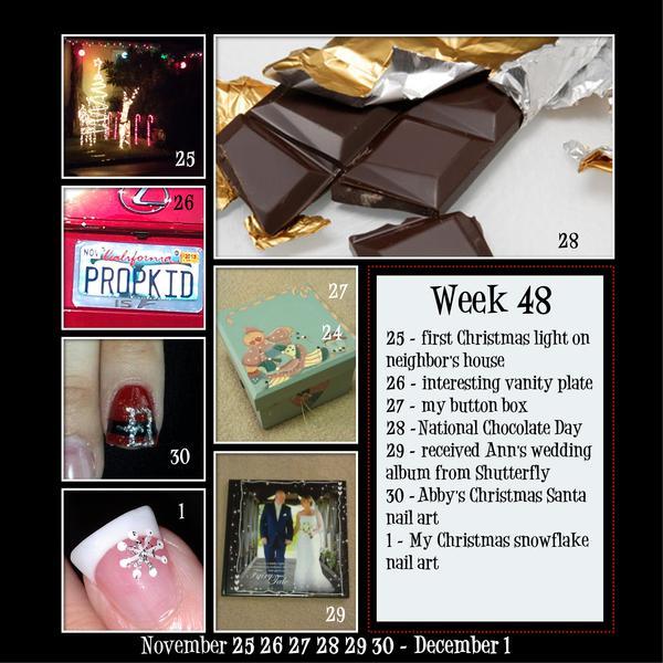 2012 Project 365 - Week 48