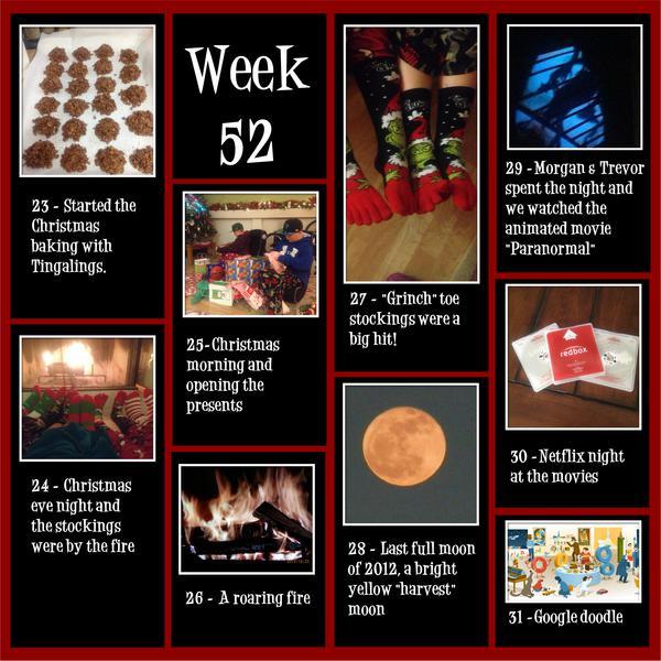 Project 365 - Week 52