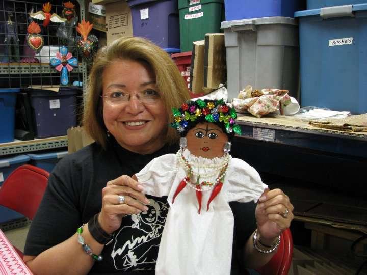 TamaleyDiva with Frida Doll