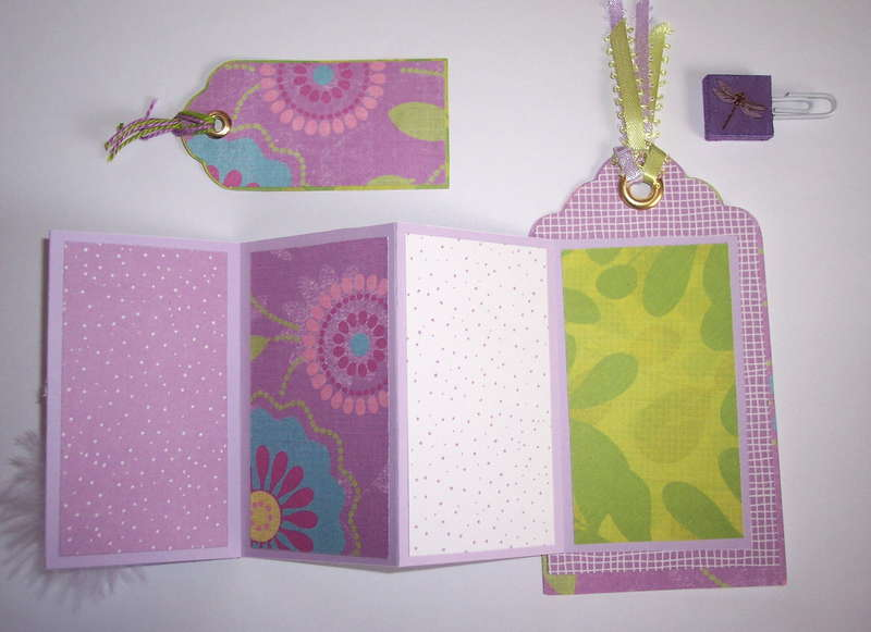 Inside of purple dragonfly tag