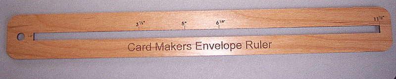 Card Makers Ruler!!
