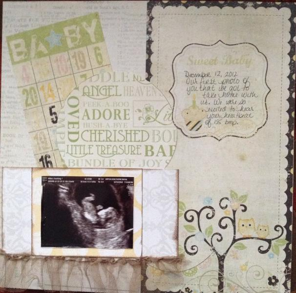 Baby's first picture - Scraputante