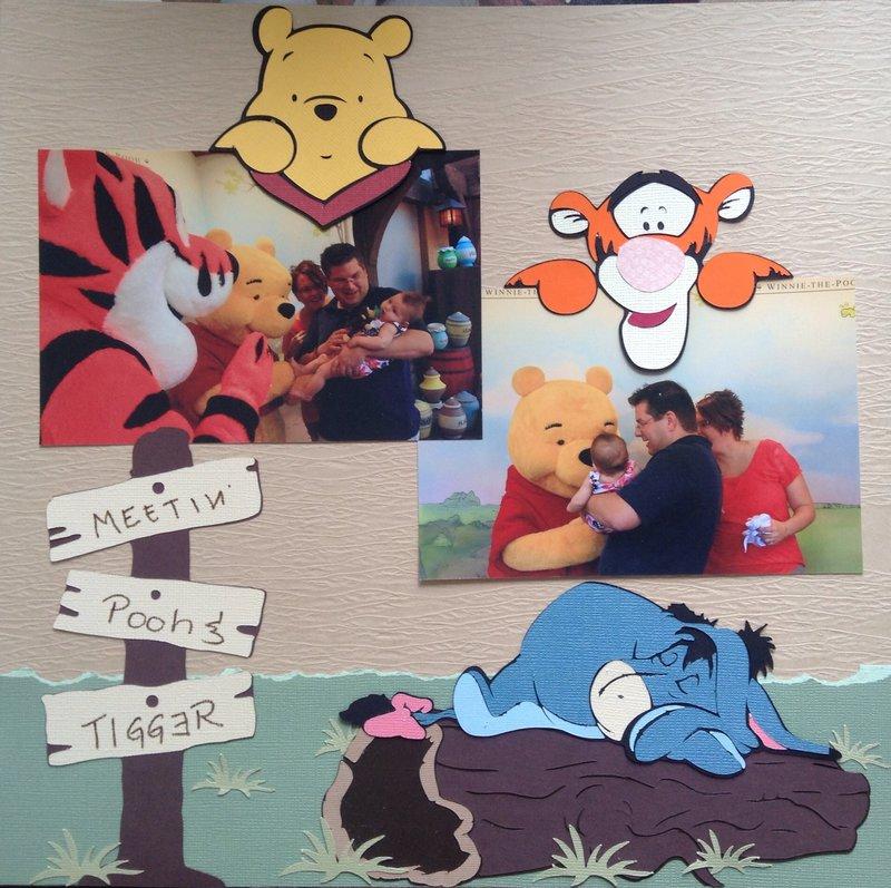 Meetin Pooh & Tigger