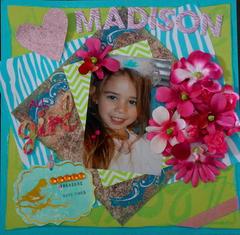 Madison Playing Dress-Up
