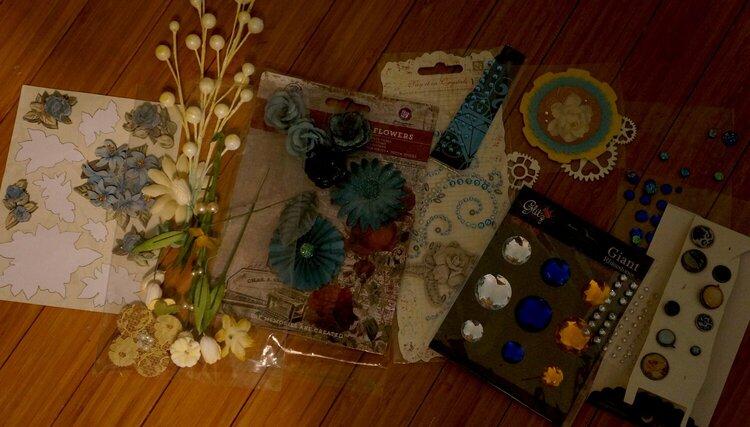 AGC November Floral & Bling Add-on