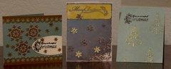 Cards Using November AGC kit