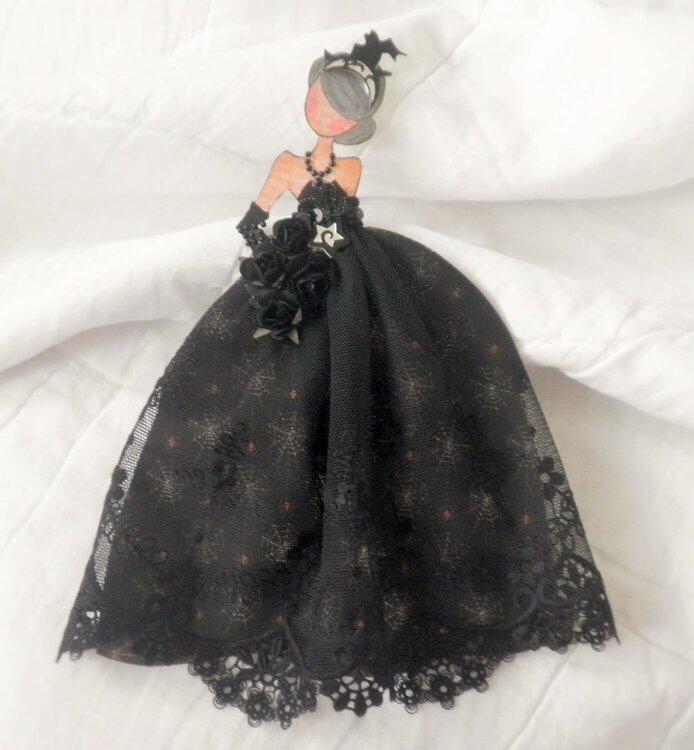 Halloween Queen Paper Doll