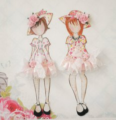 Dress Up Paper Doll Girls