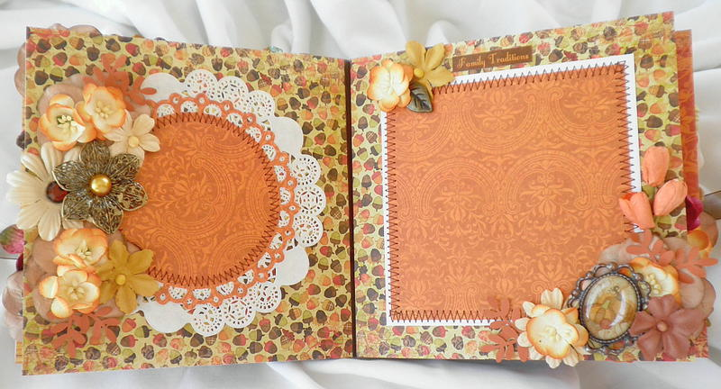 Shabby Chic Paper Lace Fall Pages
