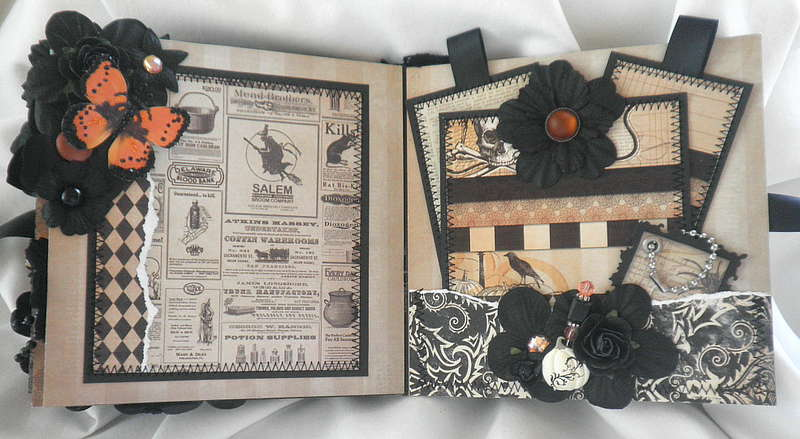 Shabby Chic Halloween Pocket Pages