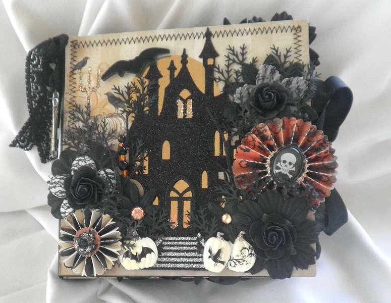 Haunted Halloween Shabby Chic Album