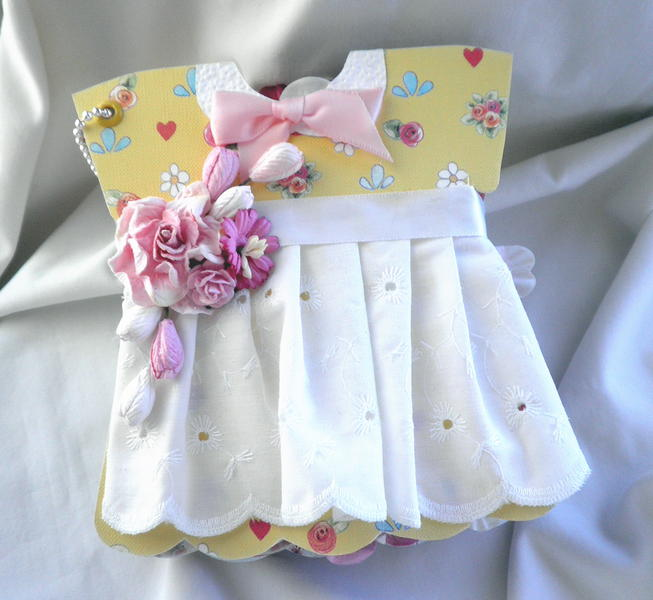 Shabby Chic Little Girls Party Dress Album