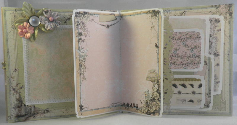 Shabby Chic Pixie Pockets Pages, Tags
