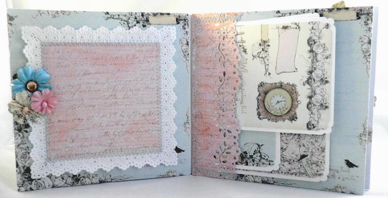 Paper Lace Pixie Pocket Pages