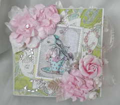 Cherish Shabby Chic Paper Bag Album