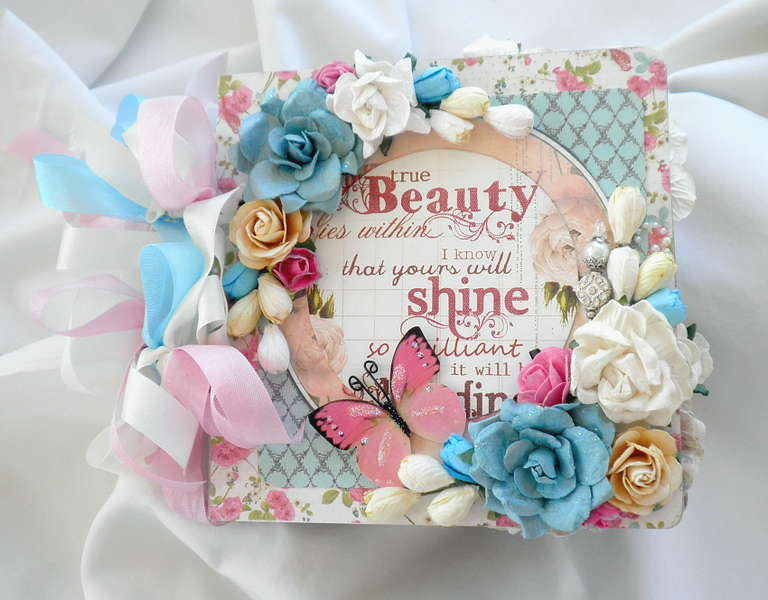 True Beauty Scrapbook album