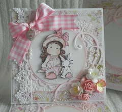 Magnolia Tida and Bunny Easter Card & Gift Box