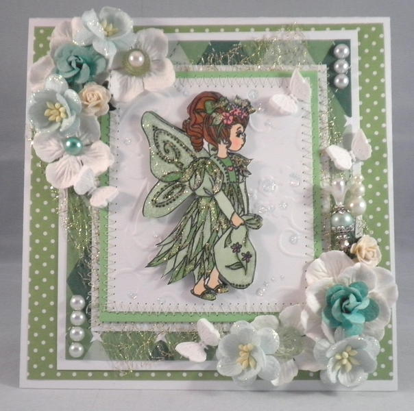 Shabby Chic Pixie Fairy CArd