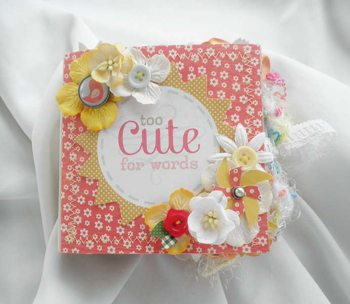 To Cute for Words Scrapbook Album