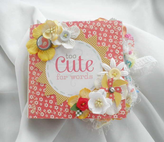 To Cute for Words Scrapbook Album