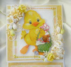 Baby Chick 3D Card Easter